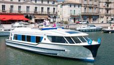 Kanalbåds krydstogtsbåde